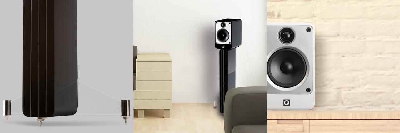 Riproduzione audio di alta fedeltà M4 Q-Acoustics